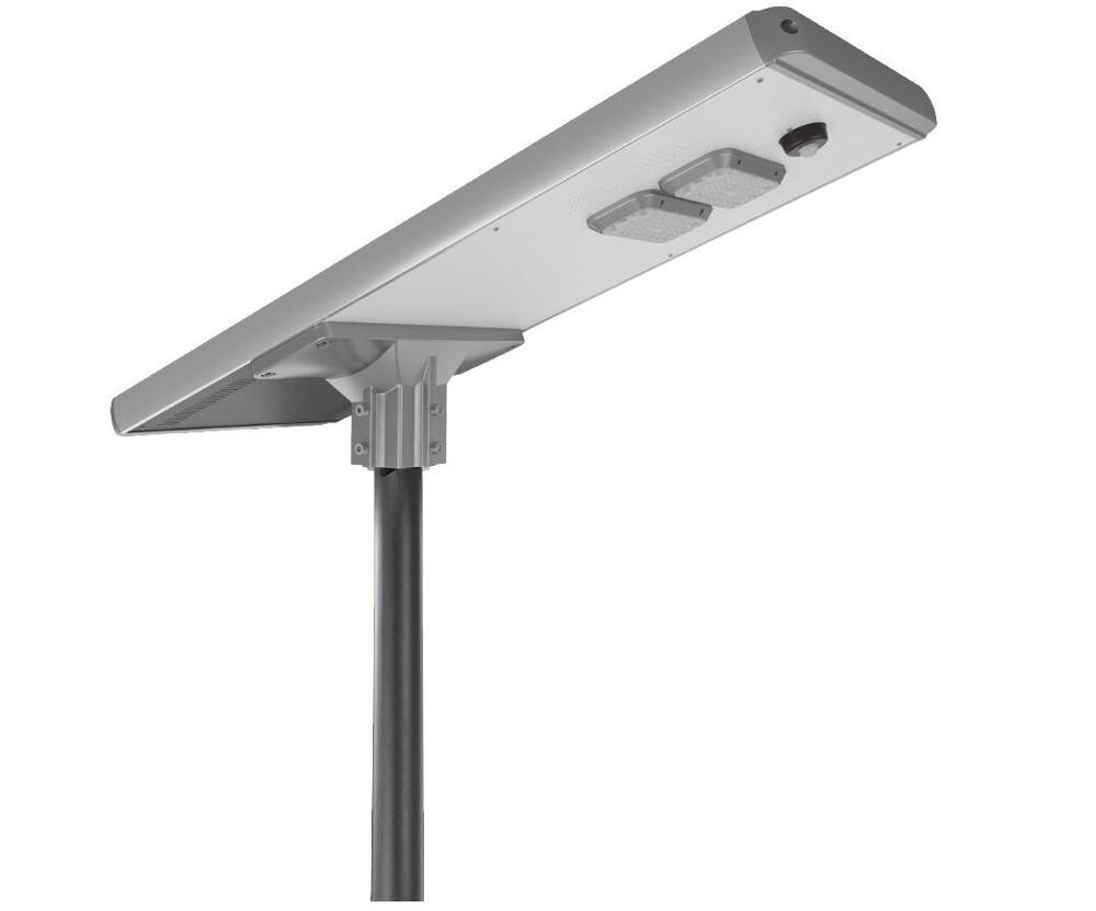 Factory price outdoor housing waterproof ip65 60w smart motion sensor all in one solar led street light