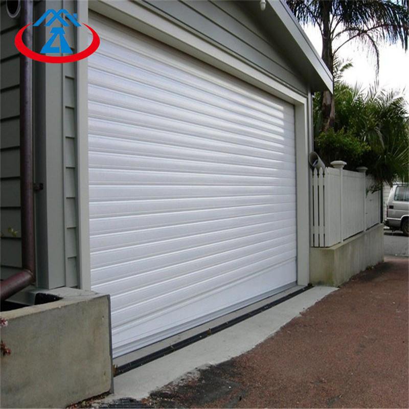 Strong windproof 12*9 white 1.5mmaluminumroller shutter garage door