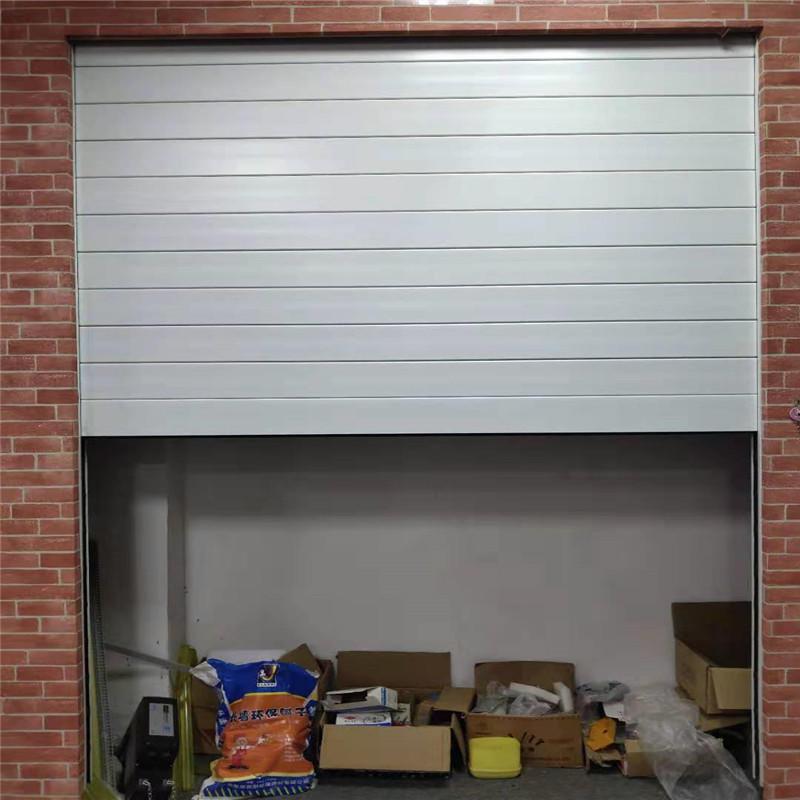 12*8 feet wind-resistant 1.5mm slat thickness electric aluminum roller shutter