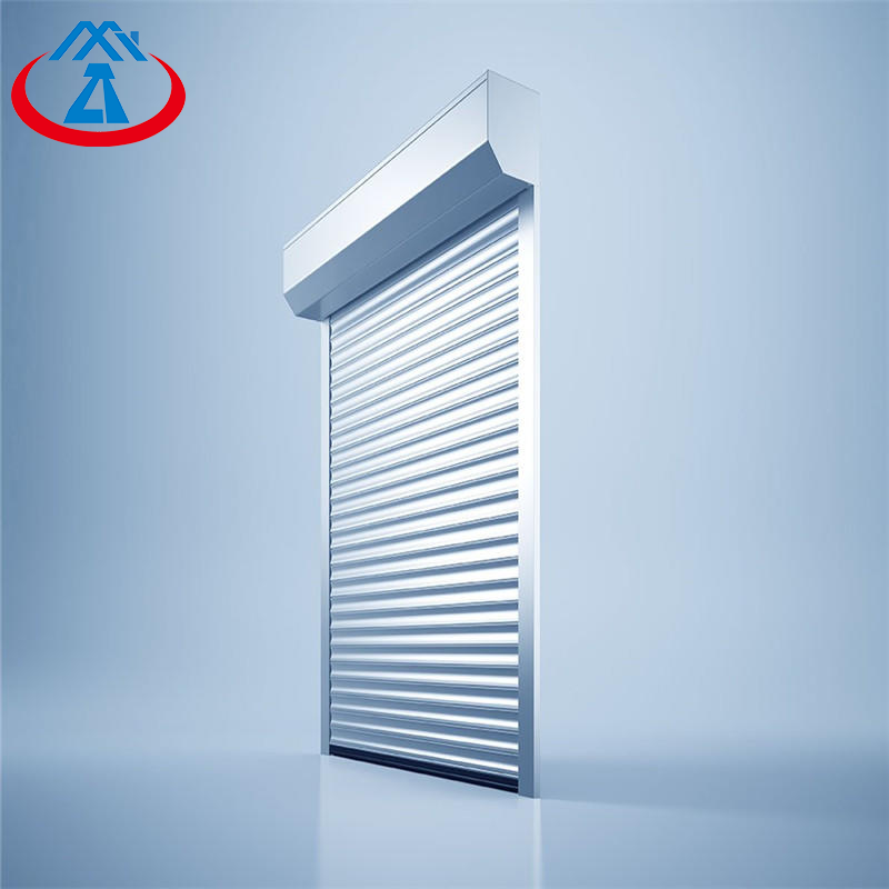 Hurricane Windproof Roller Shutter Door Roll Up Door For Industrial