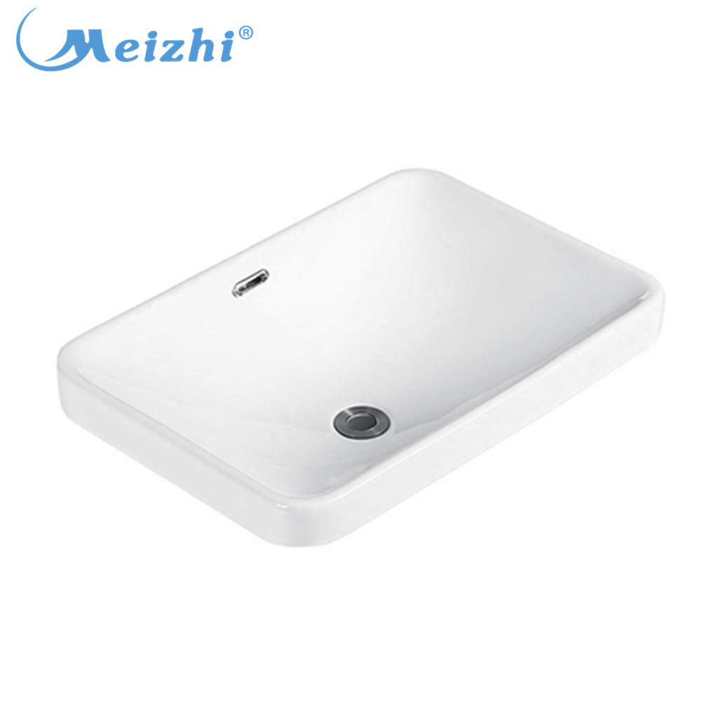 Wholesale bathroom ceramic basin for countertop