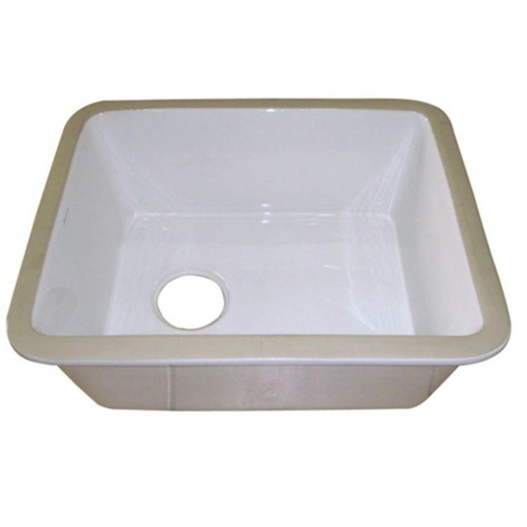 Sanitary ware undermount ceramic kitchen sink