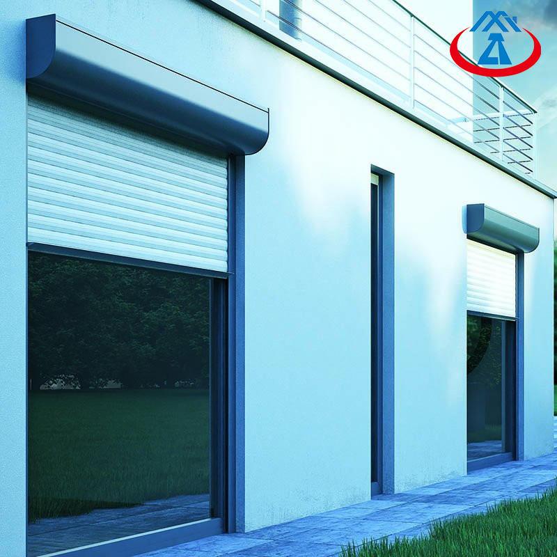 1800*2100mm Aluminum Profile Security Roller Shutter Door For House