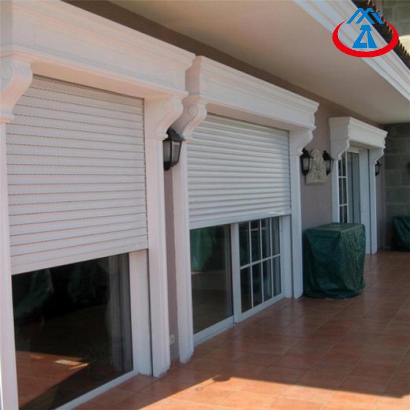 Thermal Insulation Rolling Shutter Aluminum Roller Shutter Exterior Doors