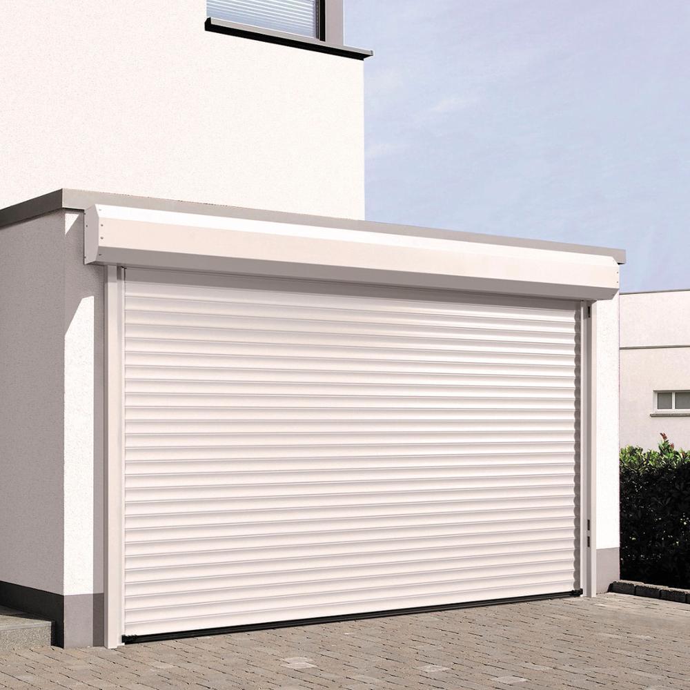 Automatic Vertical Aluminum Roller Shutter Door Factory Price Double Layer Slat Aluminum Rolling Door