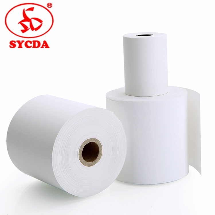Thermal paper rolls atm paperlottery ticket