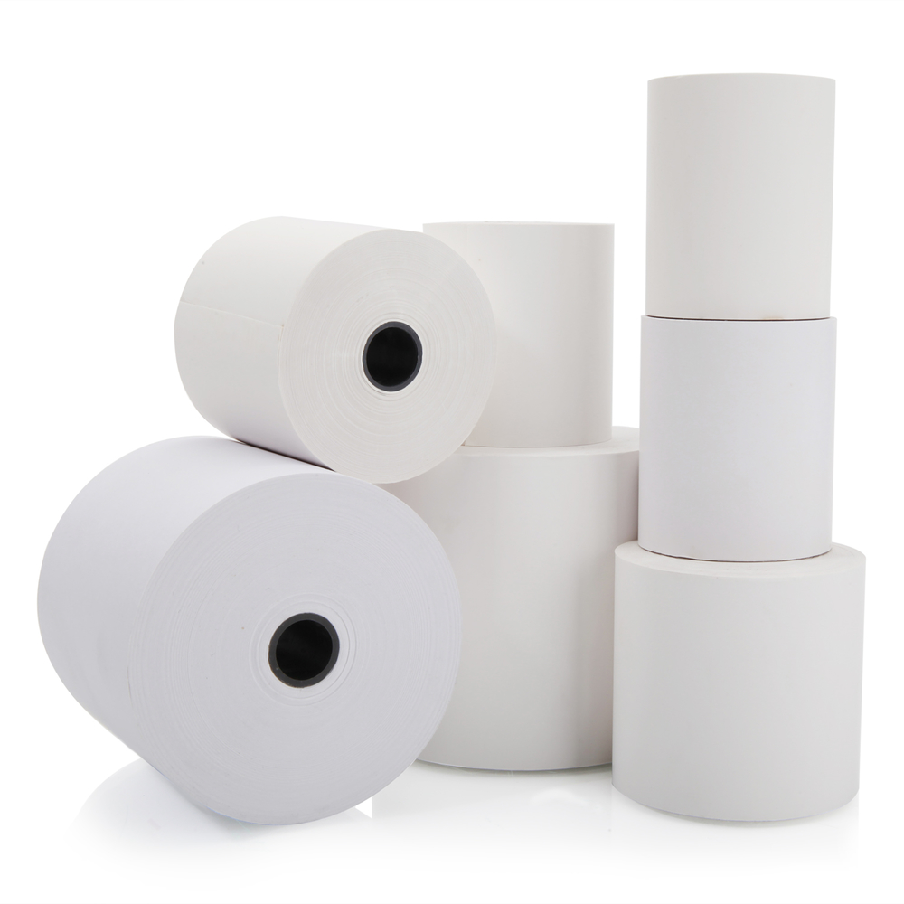 Paper thermal roll 80x80