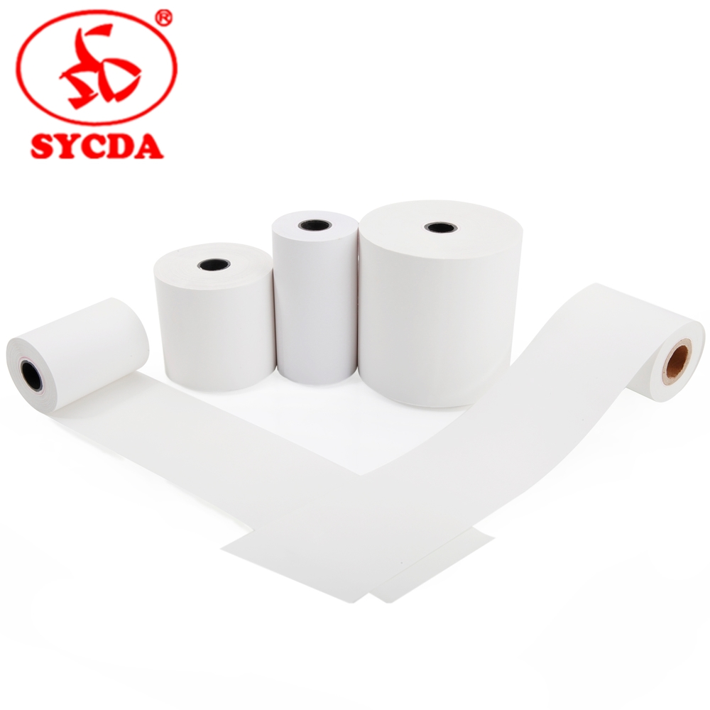 Thermal paper jumbo roll 55gm and 48gm