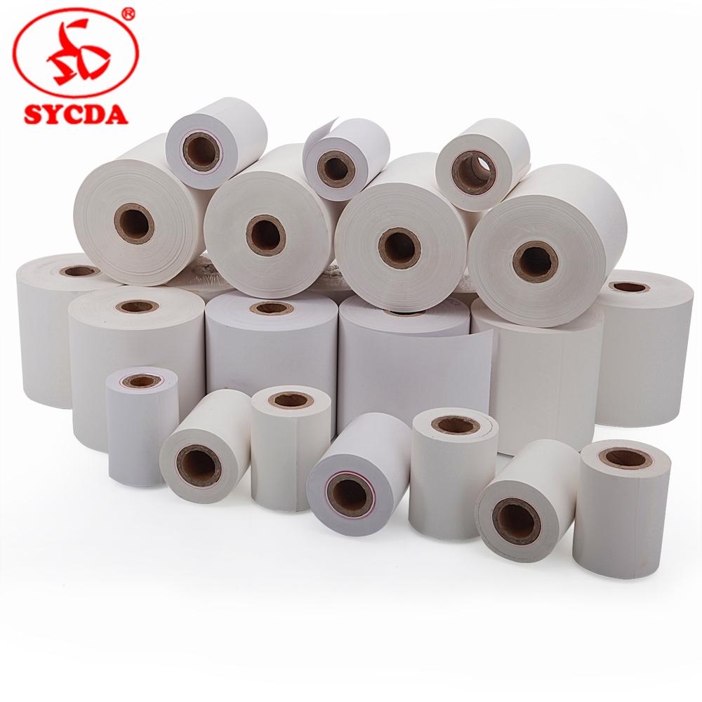 80mm x 50mm thermal paper rolls