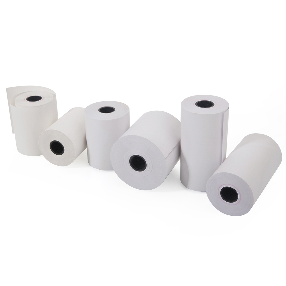 Thermal paper label roll