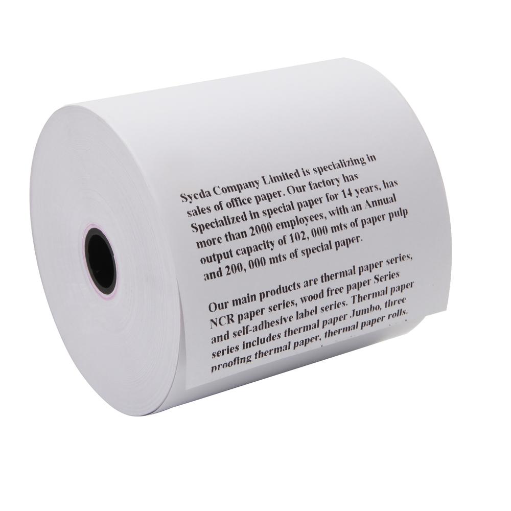 Receipt printer jumbos