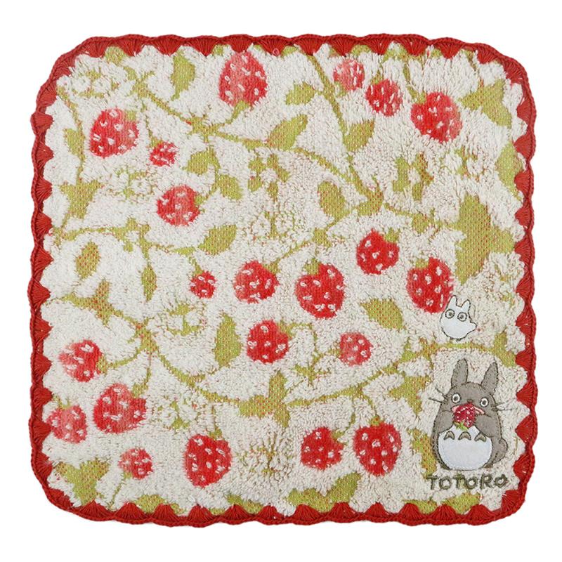 Custom logo cotton totoro baby jacquard cartoon small cotton children's hand towel