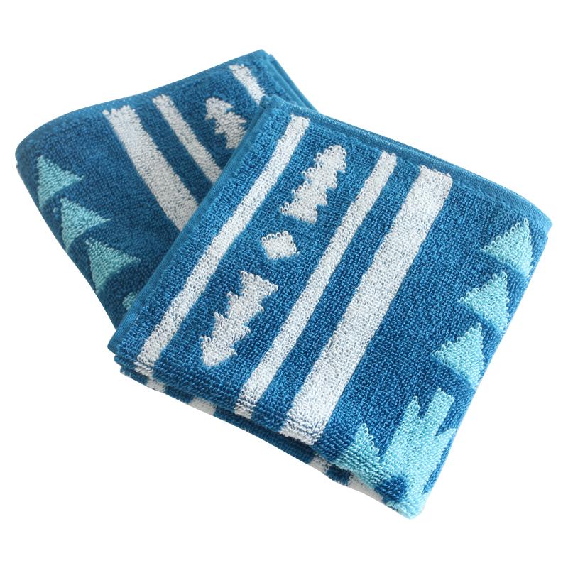 Custom made cotton double - thread jacquard small cotton children's hand towel