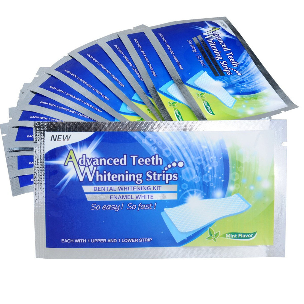 Natural Teeth Whitening Strips Coconut Oil Teeth Whitening Strips