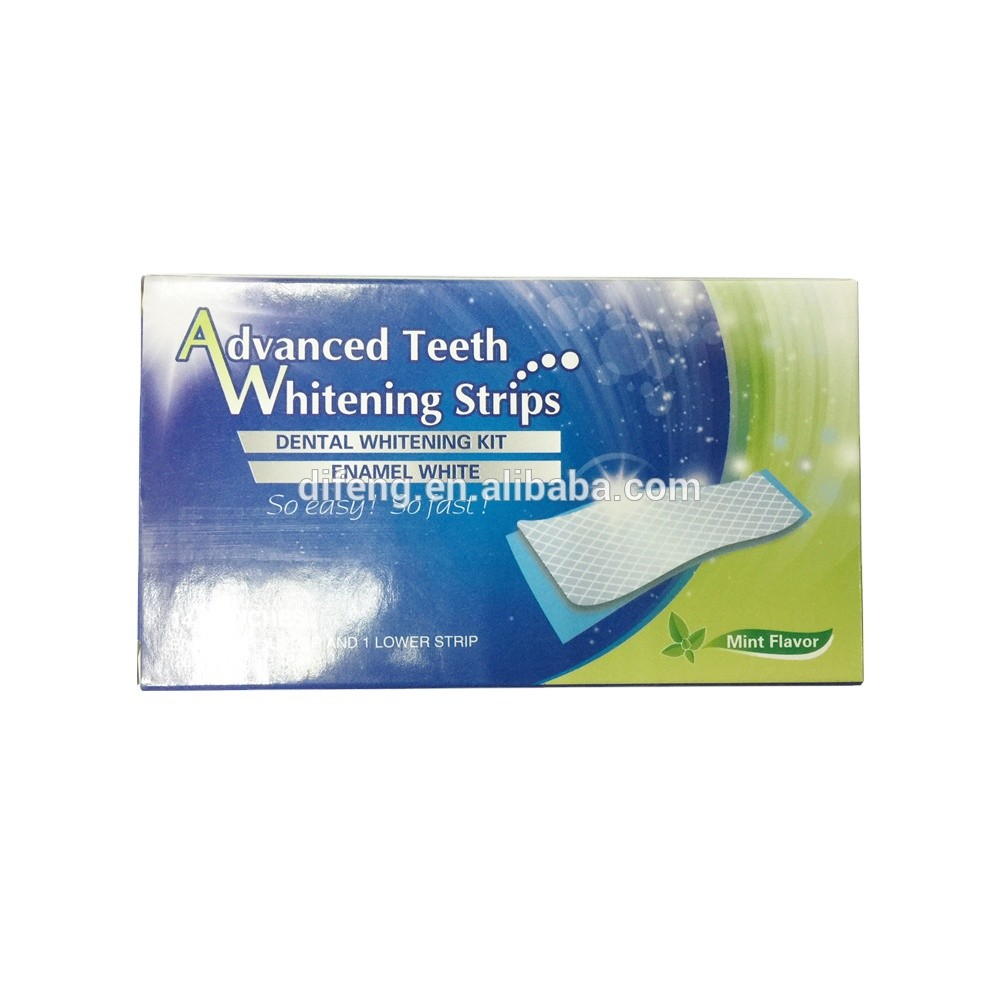 non peroxide teeth whitening strips for home use