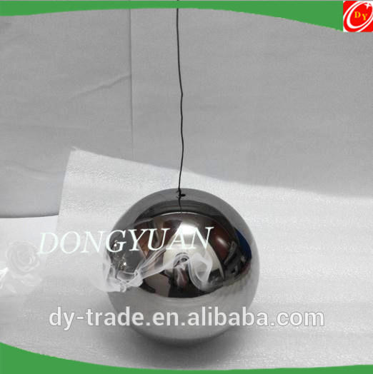 Ceiling Metal Ball with Wire for Shopping Mall Christmas Decorations
