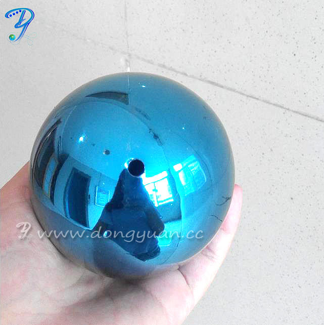Mirror Stainless Steel Decoration Ball with Black Color for Christmas Decoration