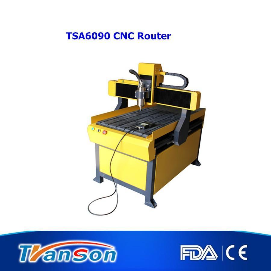 Good price higher quality 6090 cnc router 4 axis mach3 TSA6090