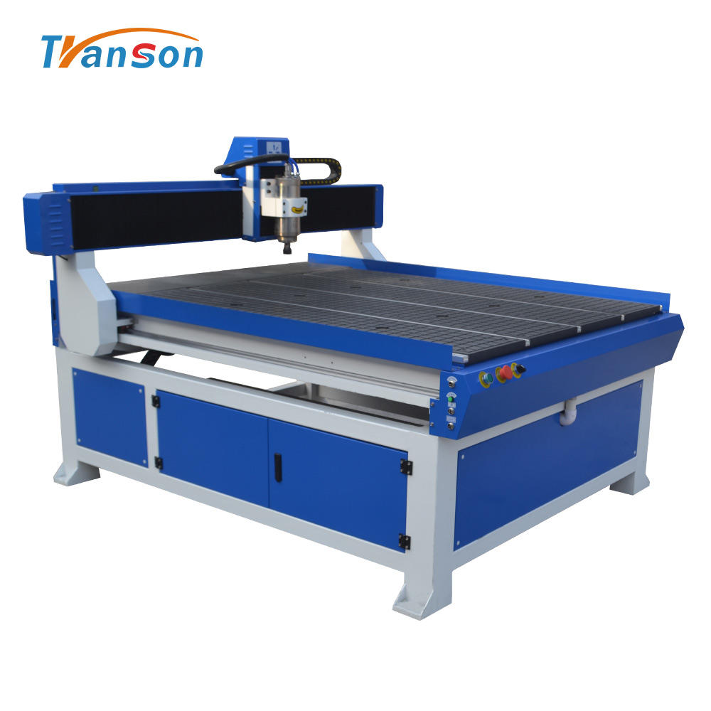 1200mm*1800mm white marble gravestone cnc router