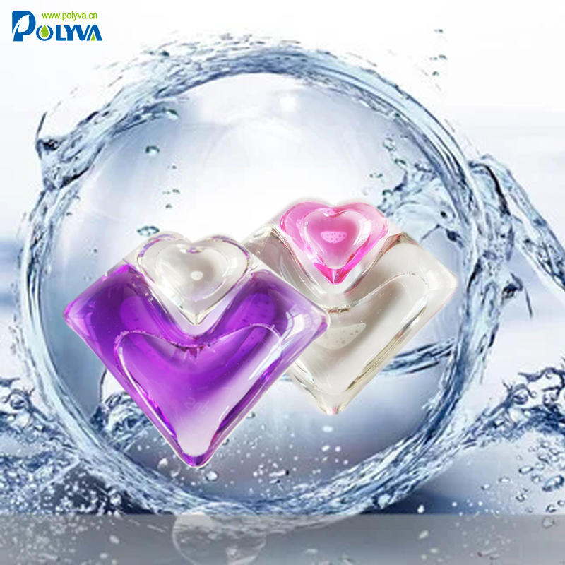 polyva wholesale Custom made High Quality apparel cleaning detergent pods