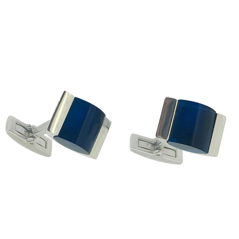 Manufacturer Crystal Wedding Sterling Silver Luxury Brass Mens Custom Cufflink Blank Set
