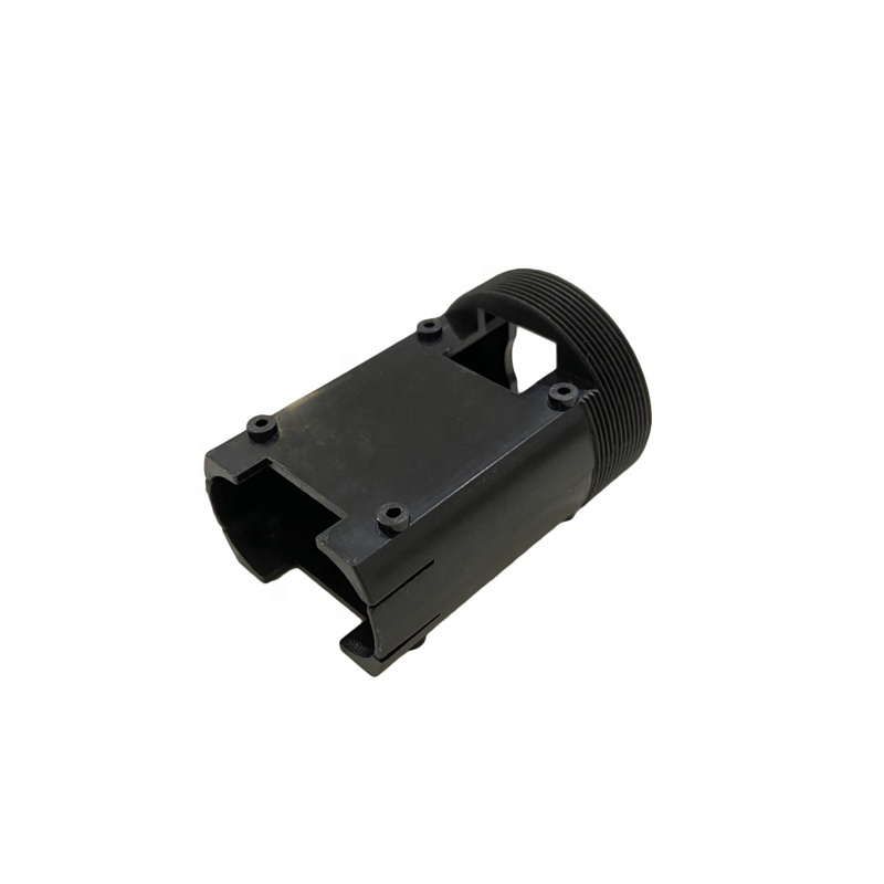 Chinese plastic product factory supplies Black battery cases