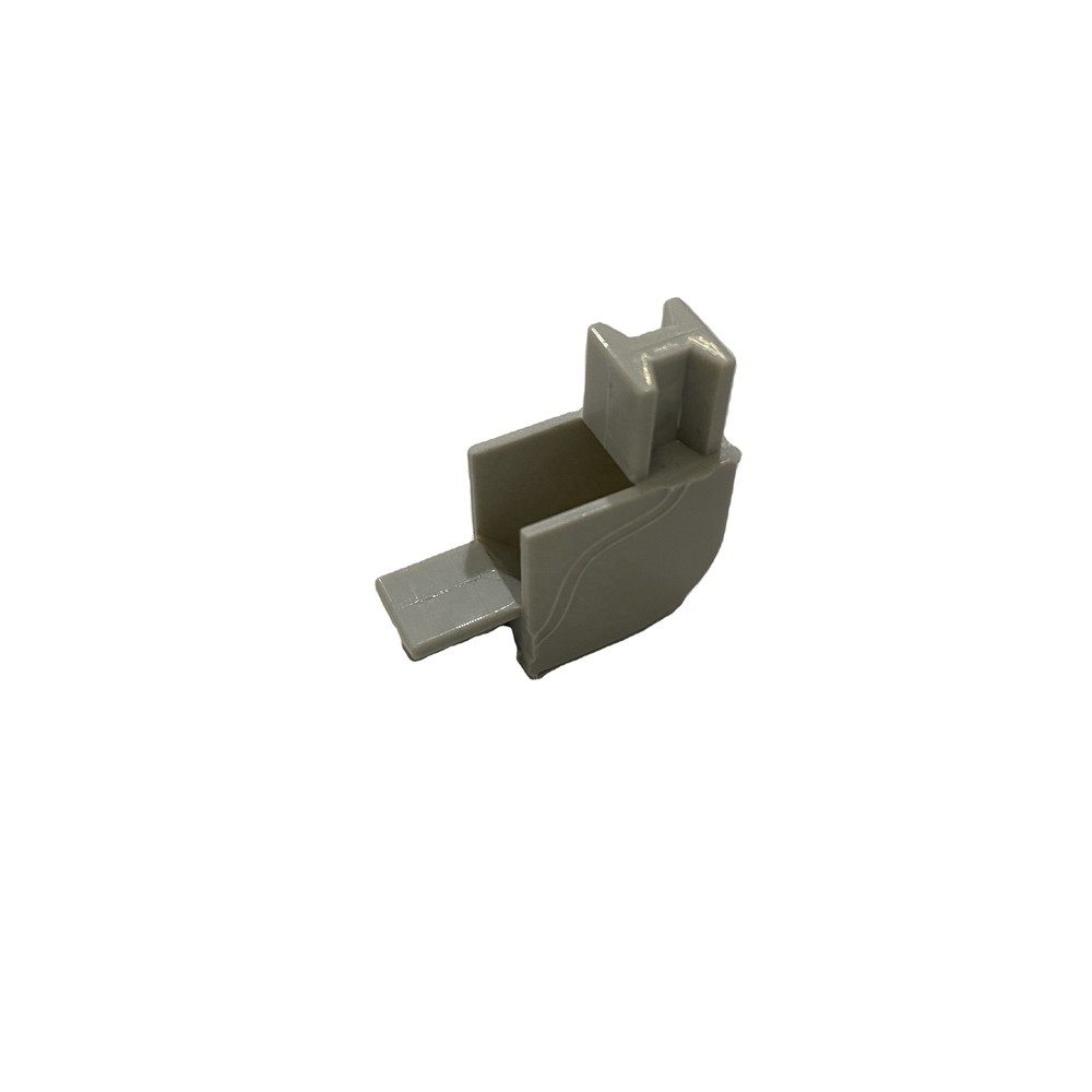 Specializing in the production of plastic products Link plastic corner with plastic profile