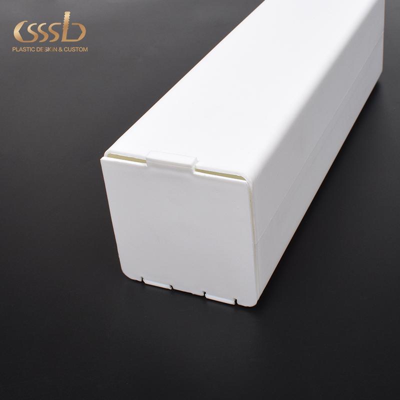 WhitePP square packing box for blanket