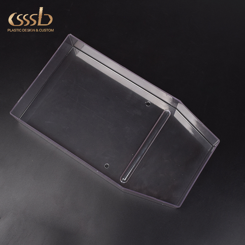 Transparent ABS window shell for escape boat