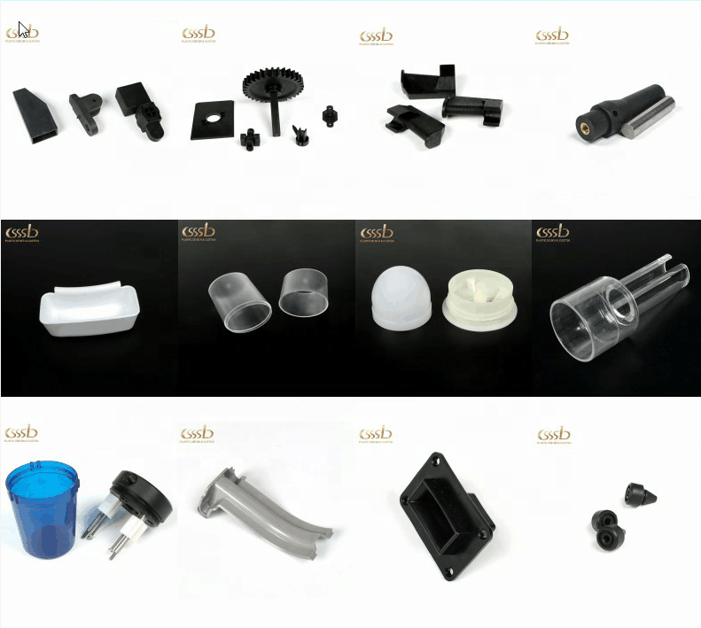 Customized plastic molding products Plastic injection accessories