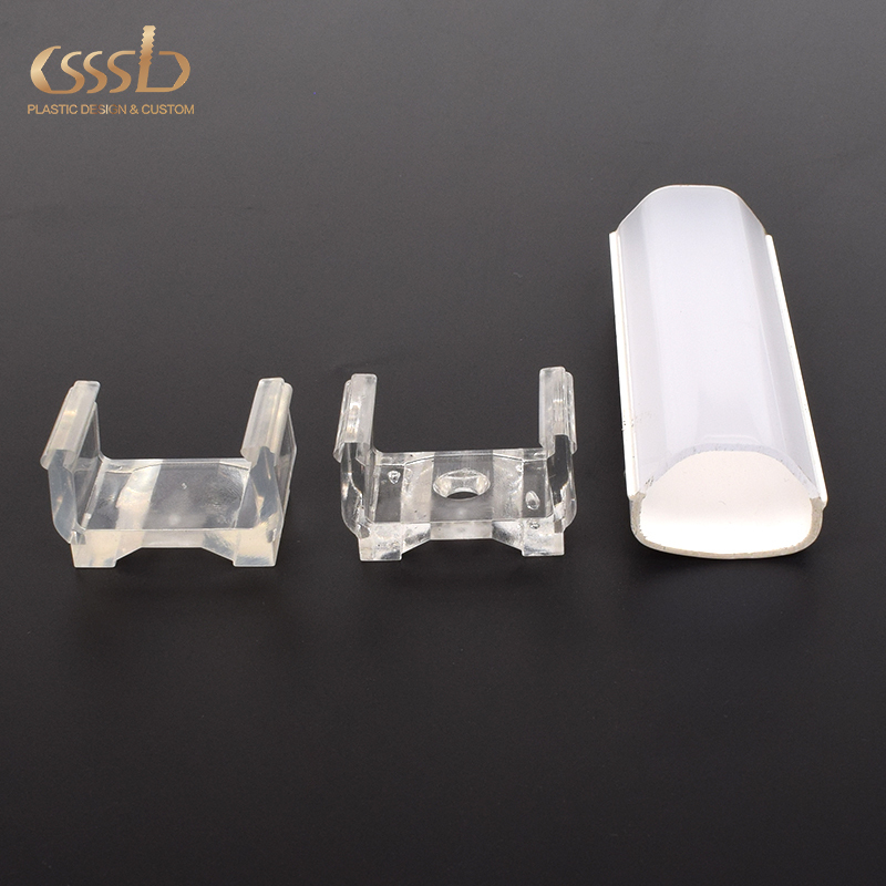 plastic u clip fasteners for holding LED linear light