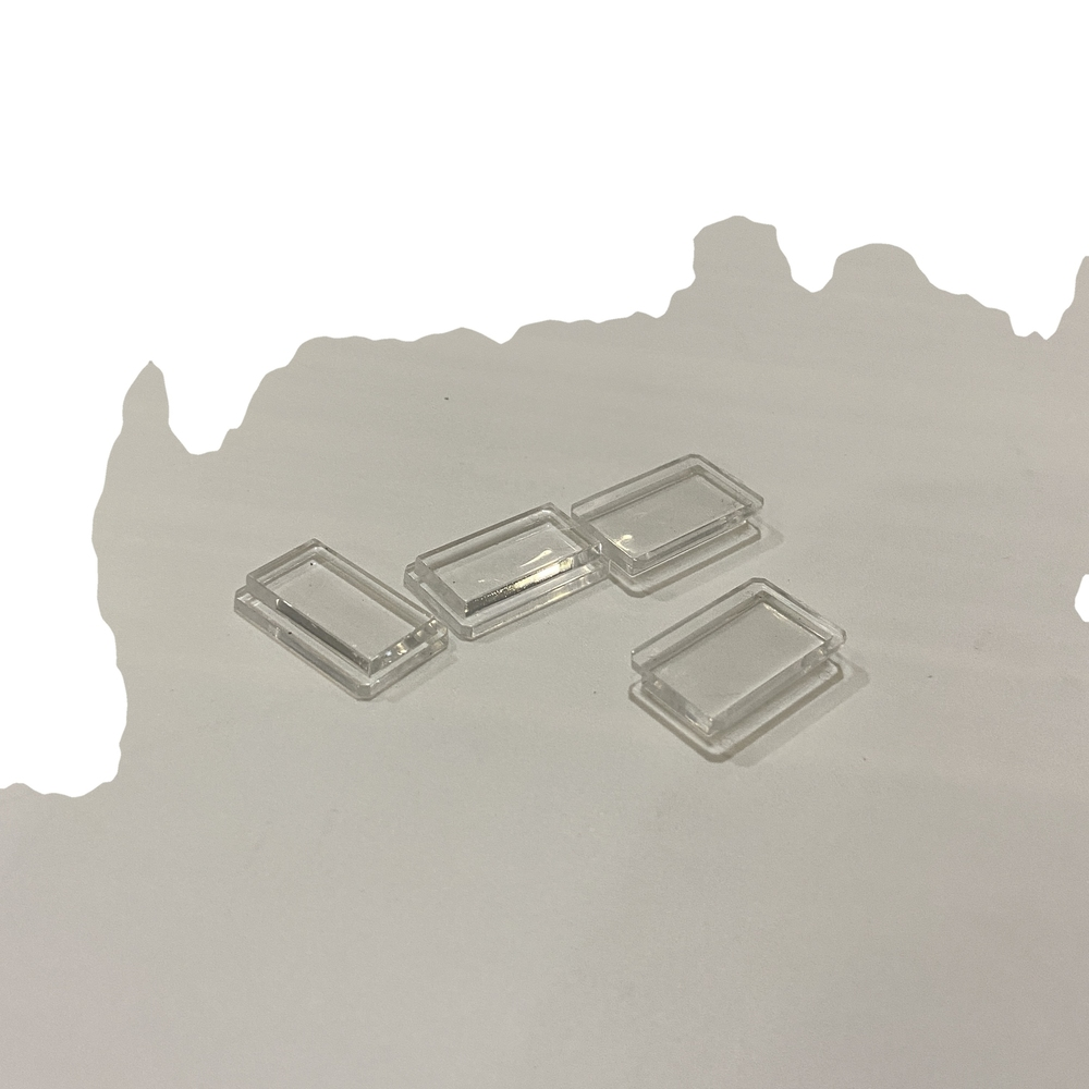 Custom made plastic injection products PMMA Light guide block