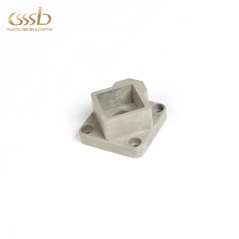 Factory custom plastic Nylon bottom base for fixture