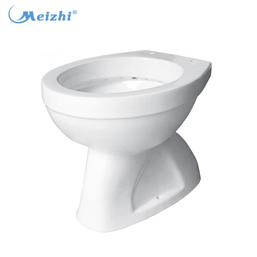 Bathroom ceramic toilet bowl price with s-trap 100mm