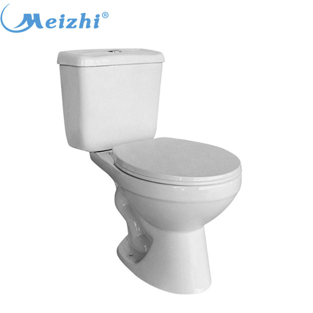 Bathroom ceramic two piece toilet equipment