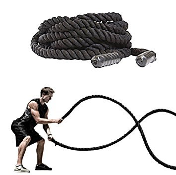 38mm diameter gym training battle power ropes