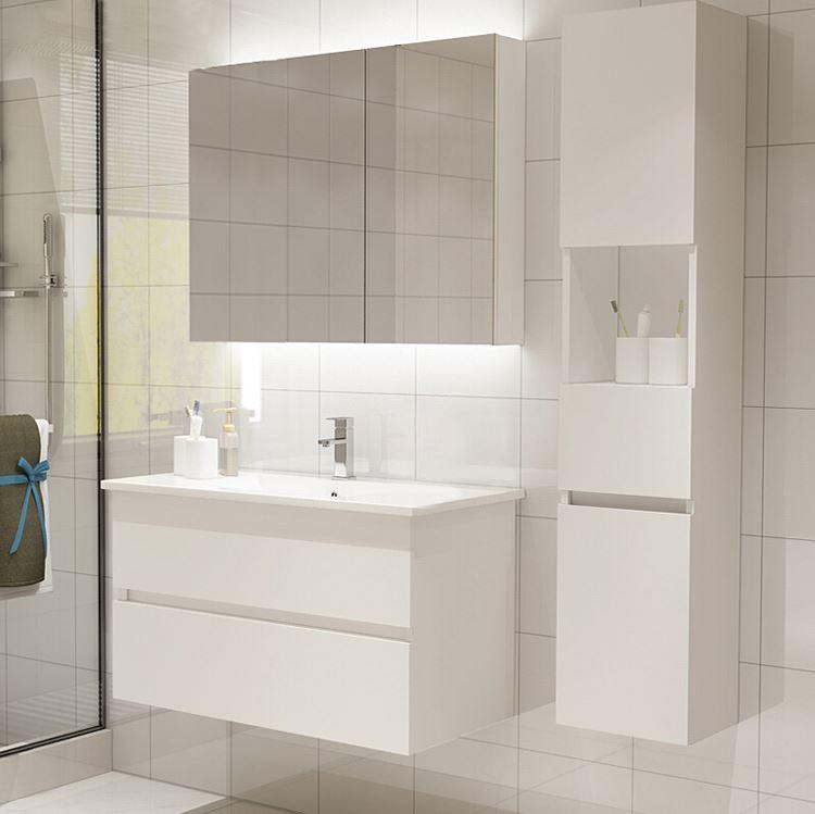Morden New Design Small White Bathroom Vanities