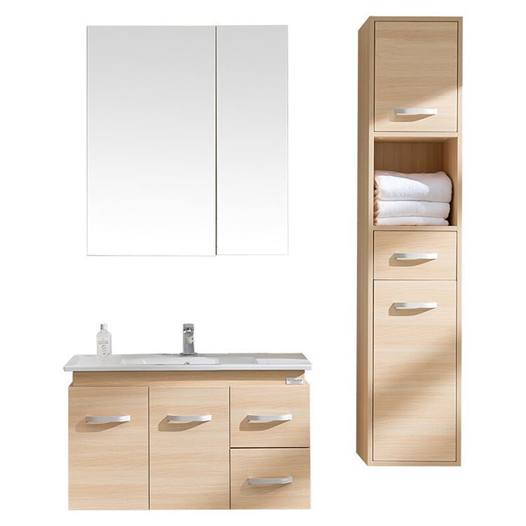 Cheap New Single Bathroom Vanities Cabinets With Drawers
