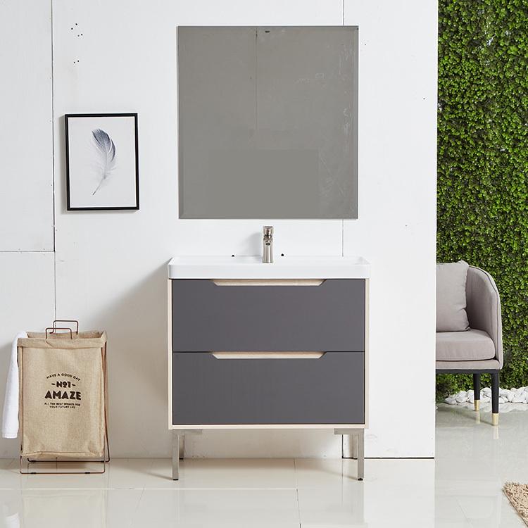 small modern minimalist washbasin wall hanging bathroom cabinet vanity
