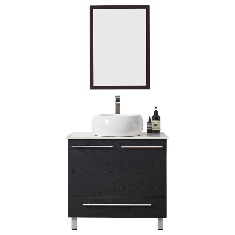 Custom Bathroom Furniture,Wall Hung Bathroom Mirror Wood Cabinet