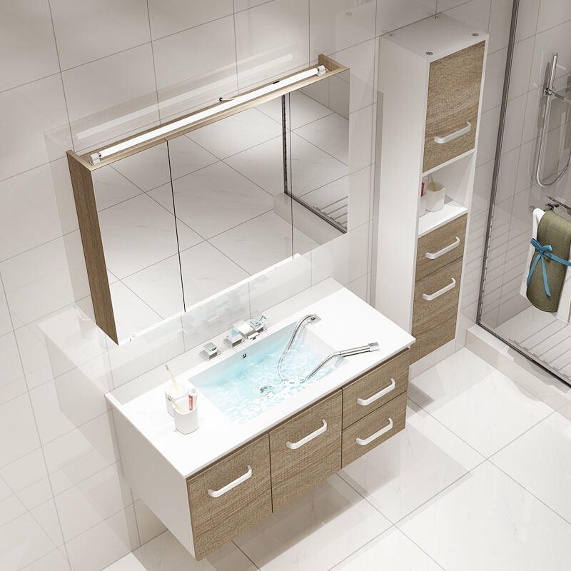Classic manufacturer vanity combo single free standing bathroom vanity
