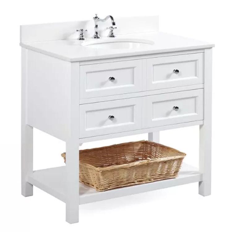 Style Design French Bathroom Vanity Cabinet,Wooden Storage Cabinet Bathroom