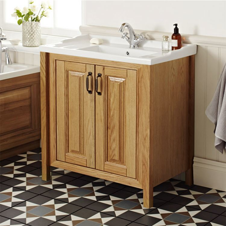 European Melamine Luxury Design Latest Modern Bathroom Cabinet Vanity