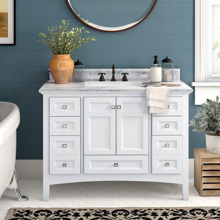 American Style Solid Wood Bath room Vanities BVS007 Manufacturer Direct Sale