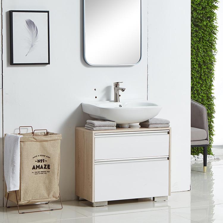 small modern minimalist washbasin wallbathroom cabinet vanity