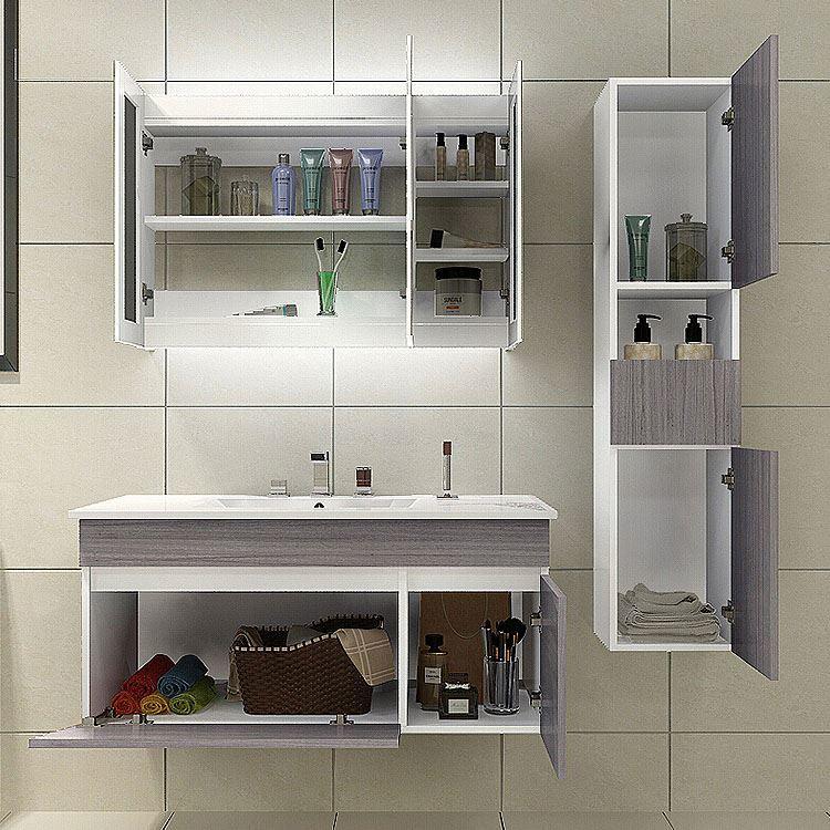 Bathroom Furniture Bathroom Vanity For Hotel,Wall Hang Mirror Cabinet