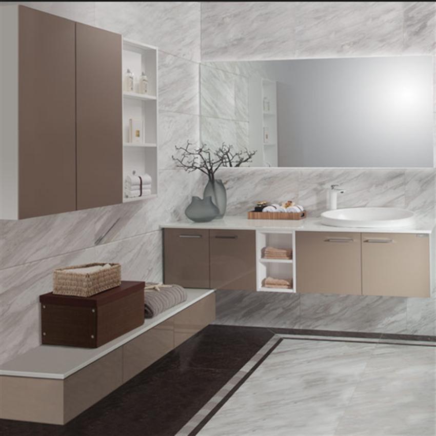 Fashion Furniture Cheap French Style Sliding Door Bathroom Vanity