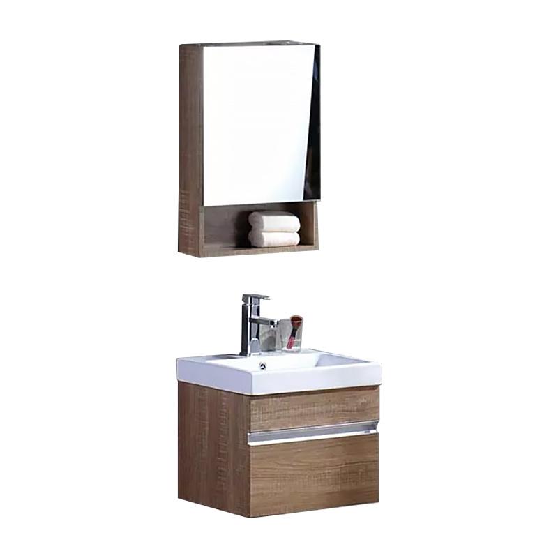 Small apartment vanity combination washbasin modern minimalist washbasin wall hangingbathroom cabinet vanity unit