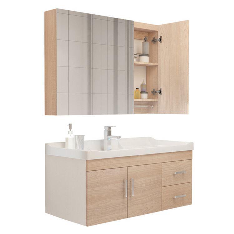 modern style solid wood wall mountundermountbathroom Vanity
