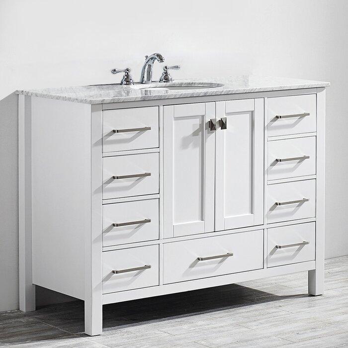 American Style Solid Wood Bath room Vanities BVS003 Manufacturer Direct Sale